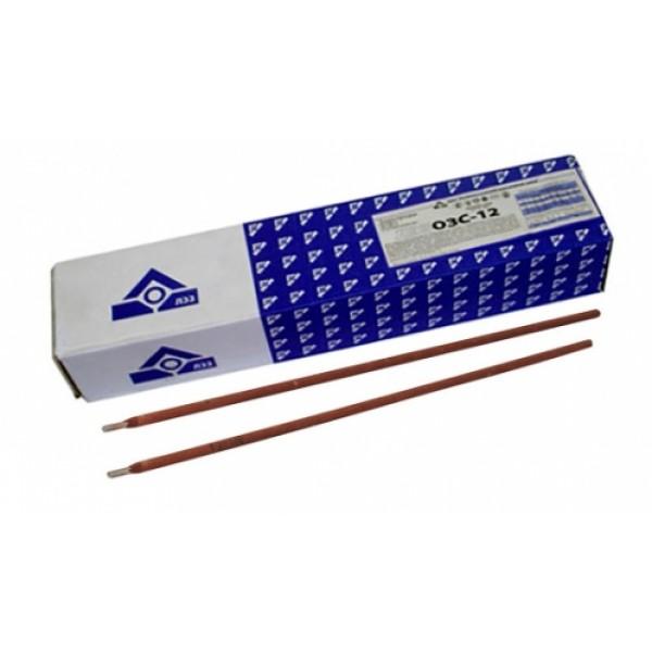Электроды ОЗС-12 д.3 мм по 5 кг  ЛЭЗ
