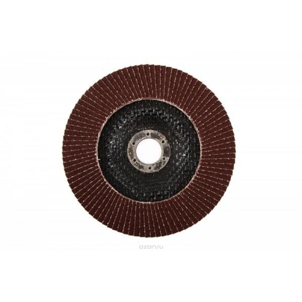 Круг лепестковый торцевой КЛТ 125*22 р. 100 Луга
